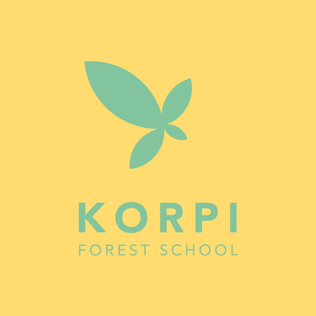 This is the logo for Korpi Forest School